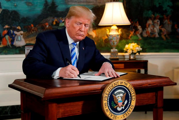 Trump Withdrawing from Iran Nuclear Deal