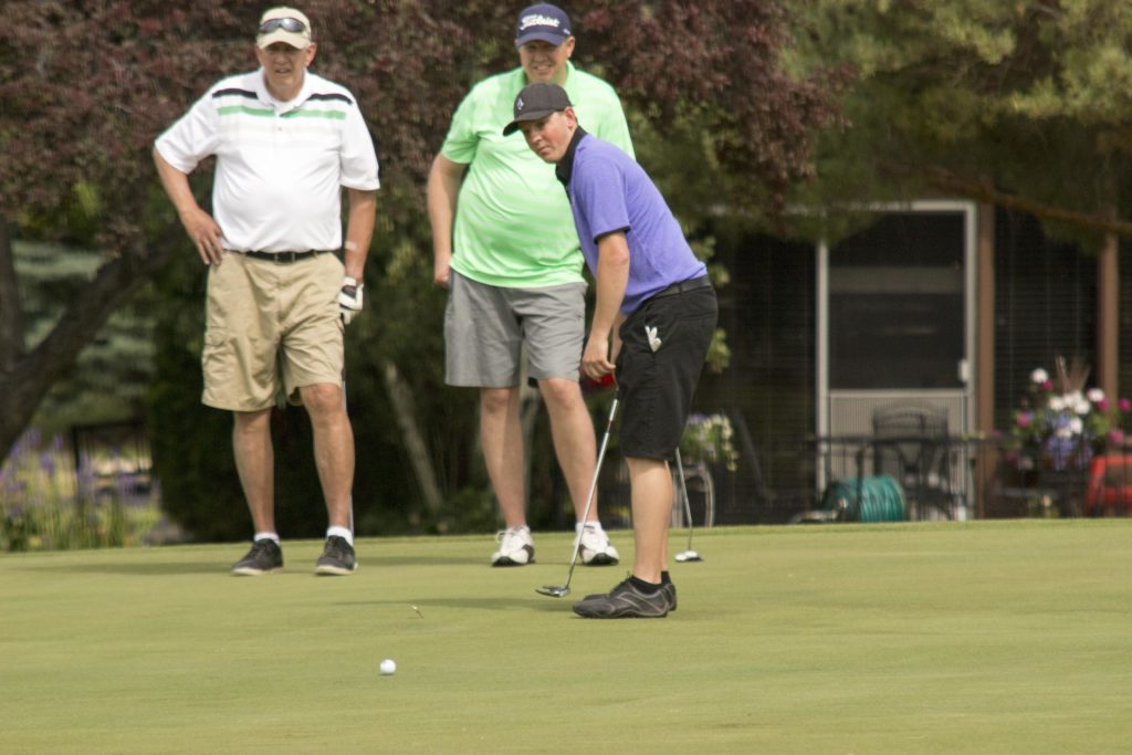 Weber State University holds the 15th Annual Alumni Golf Classic at The Barn Golf Club on Friday, June 10.(Dalton Flandro / The Signpost)