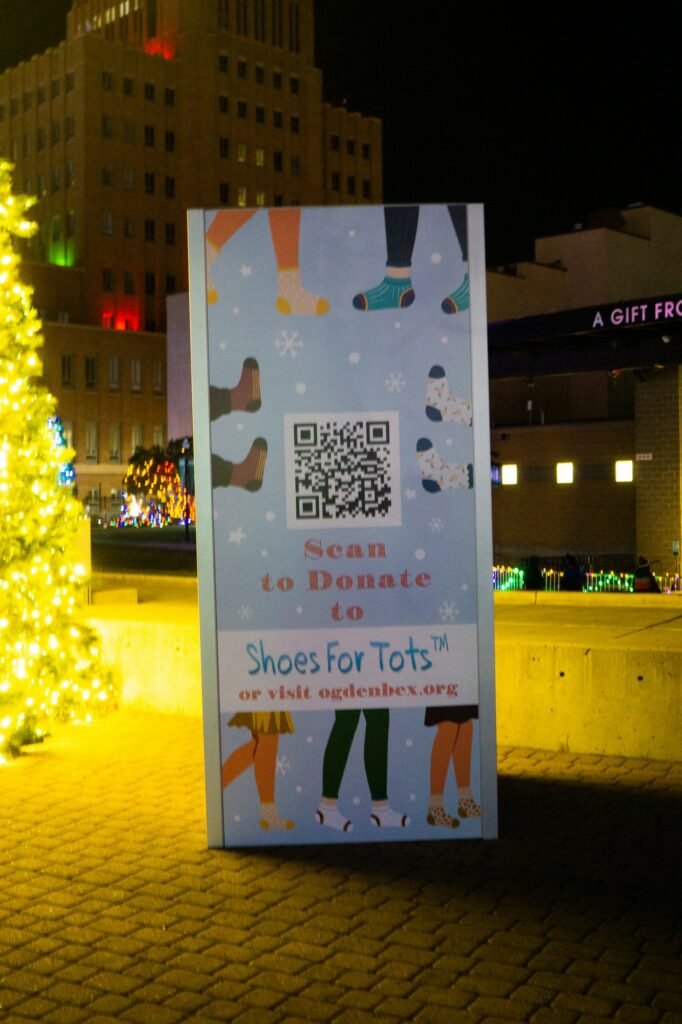 You can also donate shoes through Shoes For Tots this christmas season. (Israel Campa / The Signpost)