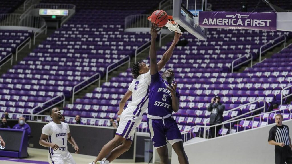 Weber State returned to Dee Event Center and clawed their way to a 94—79 comeback victory against Tarleton State University on Jan. 17.