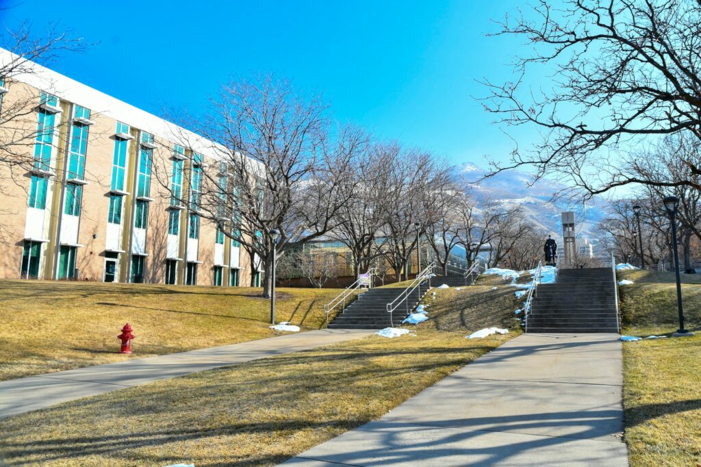 Weber State University is ready for students to return from winter break. In person, virtual and hybrid classes are being offered amid the pandemic. (Nikki Dorber /The Signpost)