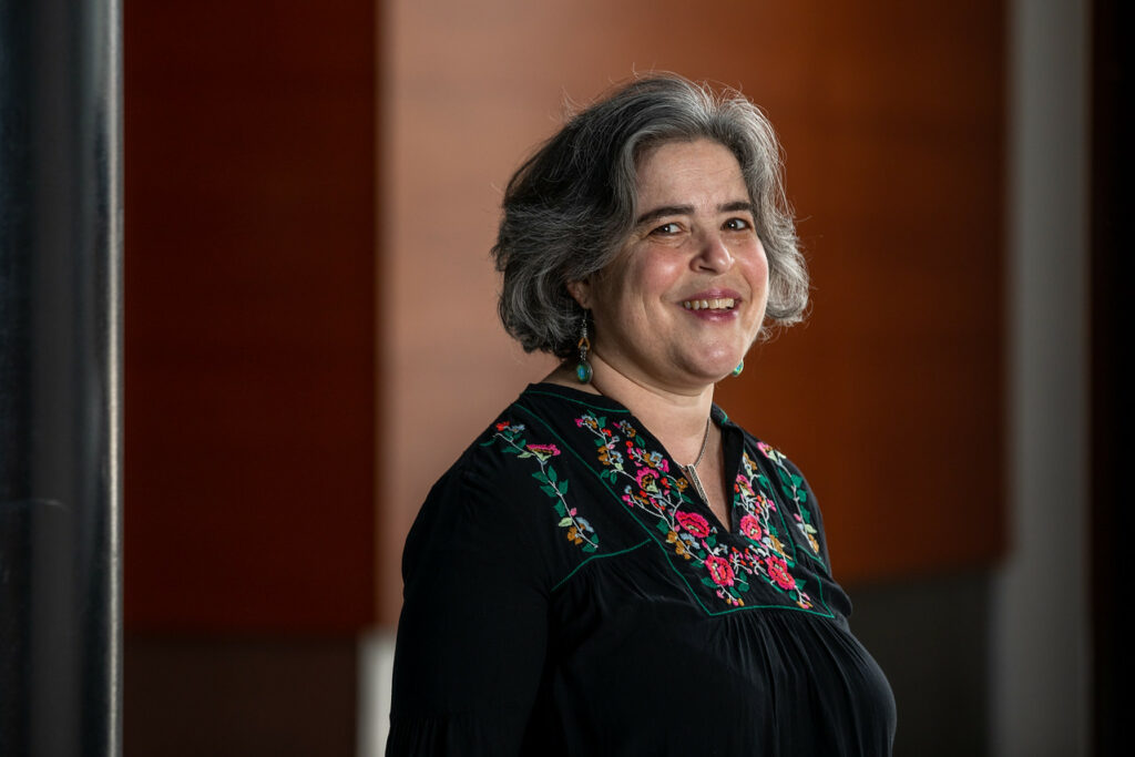Deborah Uman is the new dean of the Telitha E. Lindquist College of Arts & Humanities at Weber State University.\rJanuary 12, 2021.