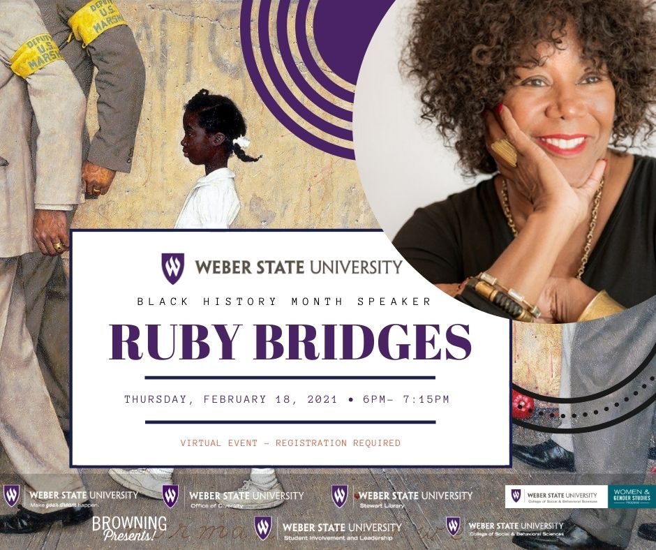 Ruby Bridges, civil rights activist, spoke to the WSU community on Feb. 18. Bridges was the little girl depicted in Norman Rockwell's painting of the beginning of the desegregation of local schools in Louisiana in 1960.