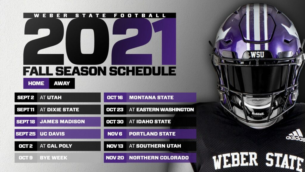 The Big Sky Conference released the fall 2021 football schedule while WSU is awaiting