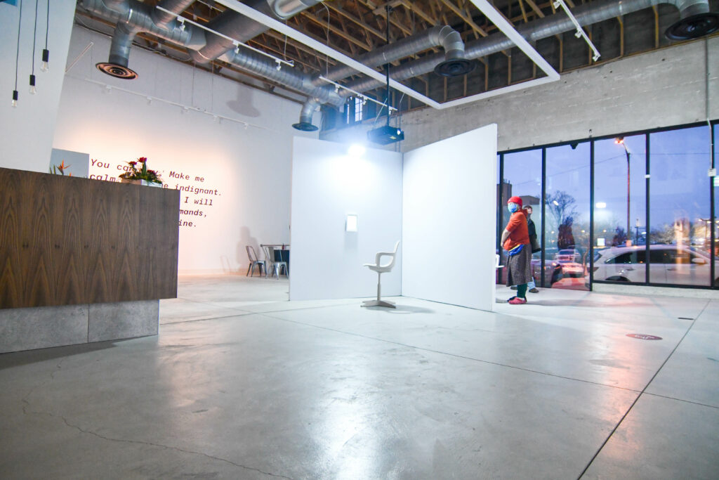 Ogden's historical Monarch Building welcomes its newest attraction, Ogden Contemporary Arts (OCA).  OCA opens their doors on Friday, offering the public a glimpse of the OCA experience.  (Nikki Dorber / The Signpost)