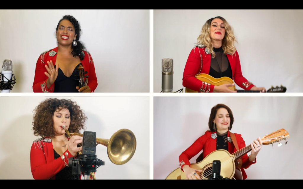 """Flor de Toloache is known as New York City's """"First and Only All-Female Mariachi Group."""""""