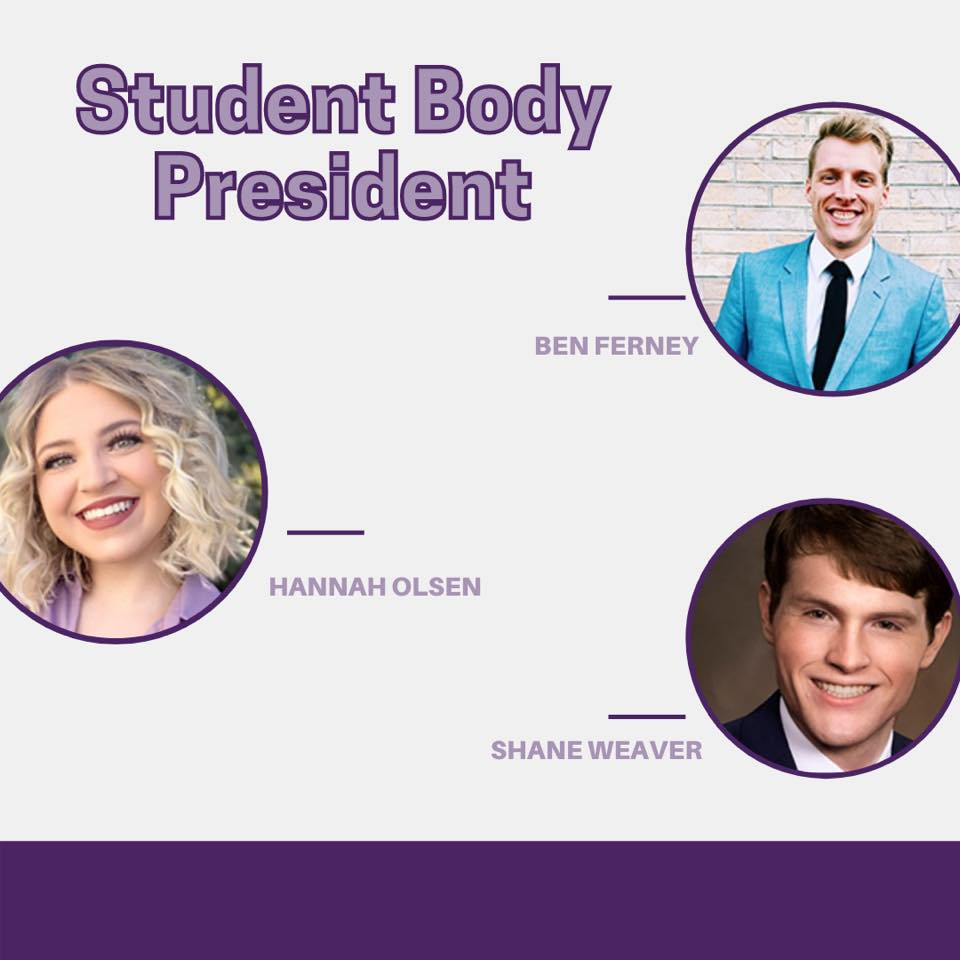 Student Body President candidates debated on March 1 ahead of the election.