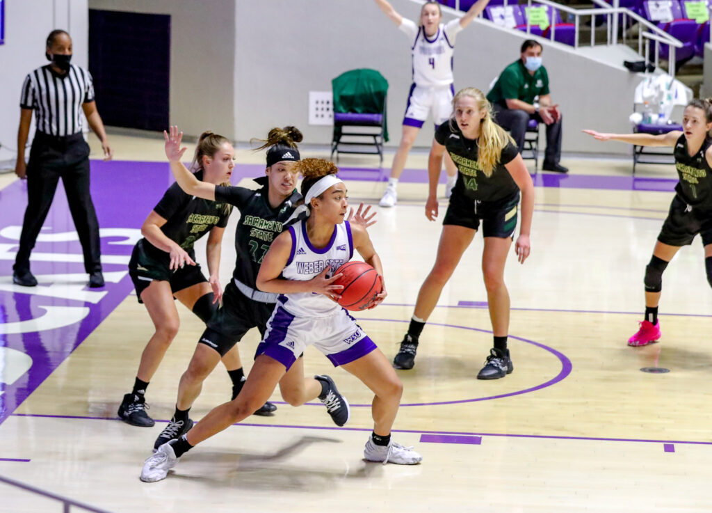 Weber State's Women's basketball team was able to pull in a win in their final game of the season.