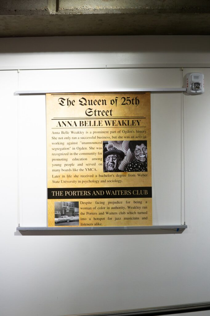 Historic 25th street has its fair share of historical figures including Anna Belle Weakley. (THE SIGNPOST/ ISRAEL CAMPA)