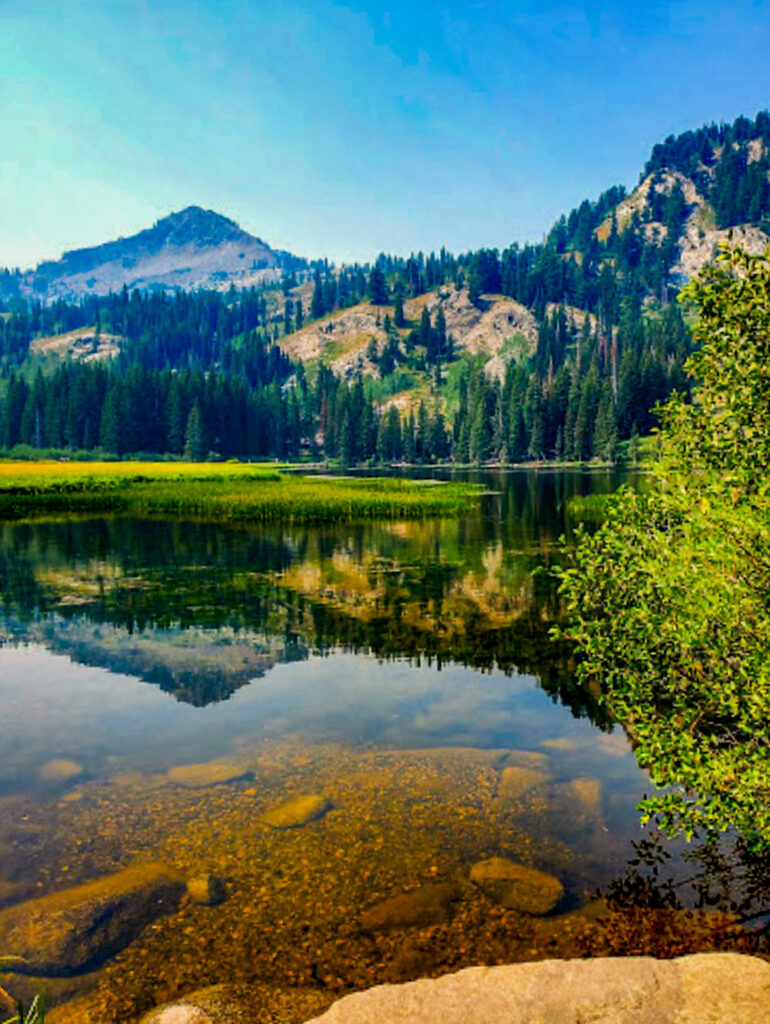 Silver Lake near Brighton, Utah is known for its beauty and reflections. Nikki Dorber/The Signpost