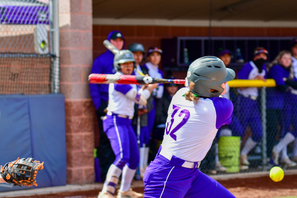 Weber State University sweeps the opening double-header at Wildcat Softball Field on Saturday, March 27. (Nikki Dorber/The Signpost)