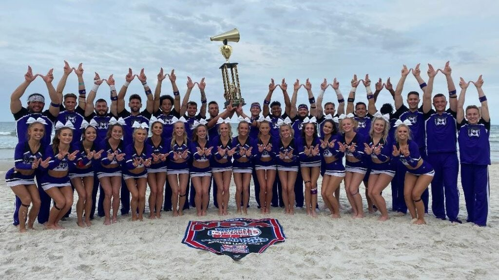 WSU's Cheer team comes home with Grand National Champion title.