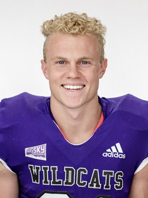 Jeremy Wilcox, Photo from Weber State's Official Football Roster