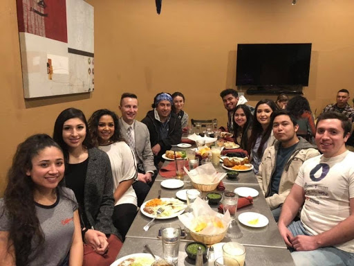 Different organizations at the Center for Multicultural Excellence, such as the Hispanic Area Council, hold social events for students.
