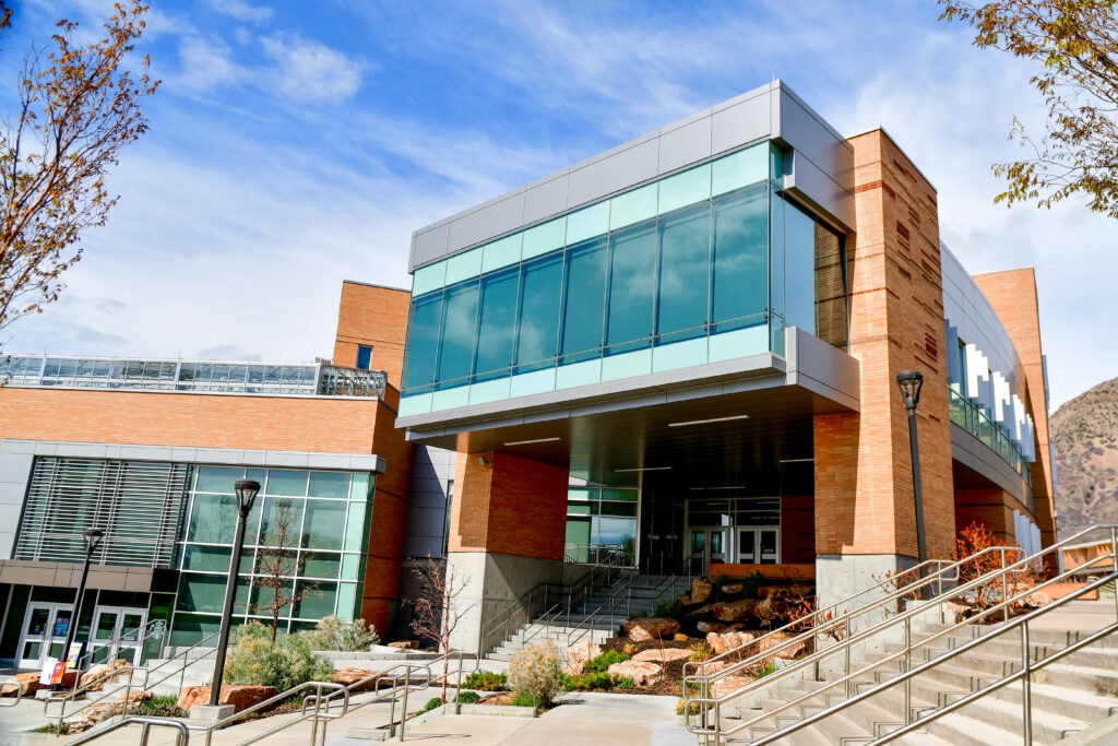 The Tracy Hall Science Center is located on the northeast end of Weber State's Ogden campus. (Nikki Dorber/The Signpost)