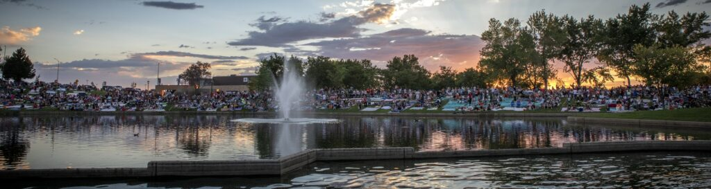 Lindquist Family Symphony Pops and Fireworks at Weber State University. July 14, 2019.
