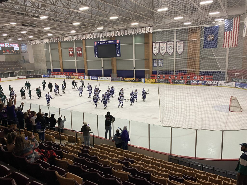 Weber State University's hockey can be found on the Ice Sheet located near the Dee Events Center. (Emily Miller / The Signpost)