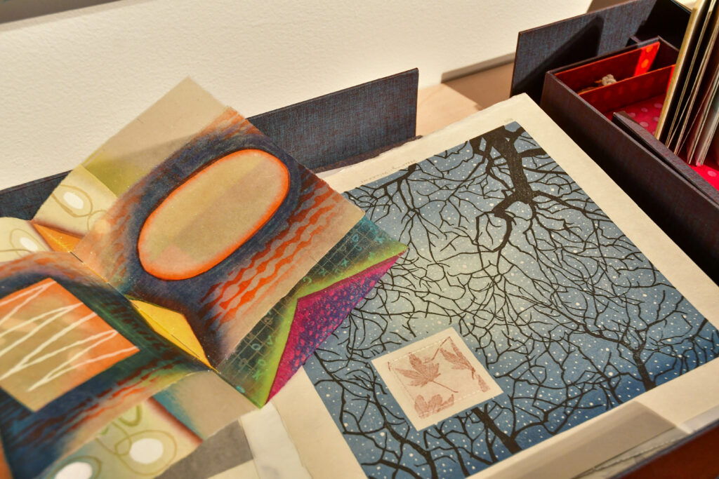 Several mediums are used for art submitted to the 2021 Biennial Faculty Exhibition, hosted by The Mary Elizabeth Dee Shaw Gallery at Weber State University. The exhibit, which displays art submitted by faculty from the Kimball Art Center, is free to visit and will be running through Nov. 13. (Nikki Dorber/The Signpost)